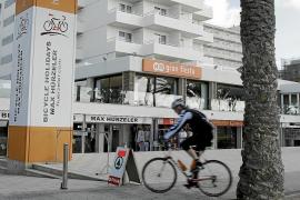 El cicloturismo salva la ocupación durante el invierno a más de 26 hoteles en Platja de Palma