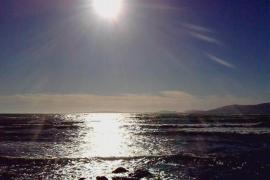 reflejo del sol