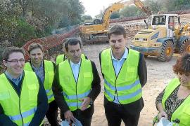 El nuevo depósito solucionará la grave problemática de las fugas de agua en Campos