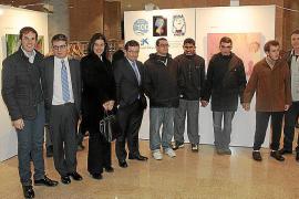 Exposición de pinturas de alumnos de los centros Gaspar Hauser y Juan XXIII