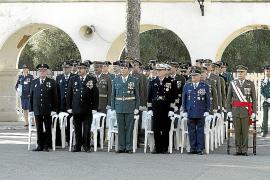 Solemne acto en Son Sant Joan para celebrar la patrona del Ejército del Aire