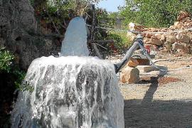 El alcalde pedirá al Govern que financie la canalización de agua hasta s'Estanyol