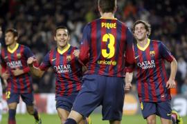 El Barça, sin Messi ni Fàbregas, golea al Celtic (6-1)