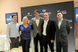Torneo de golf solidario con Rafa Nadal y Chema Olazábal en Pula Golf