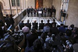 La Generalitat ya trabaja para elaborar un censo para la consulta soberanista