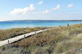 El atractivo de una Formentera en calma