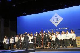 La Coral Universitat y sus filiales felicitan la Navidad en el Auditòrium