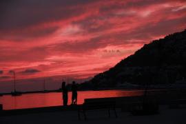Puesta de sol en el Port d'Andratx