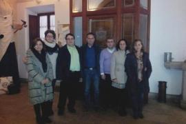 La oposición se encierra en el Ajuntament de Inca  para evitar la privatización del agua