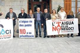 oposición de inca contra la privatización del agua