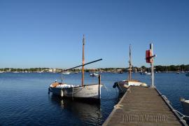 Llaüt, embarcación de Mallorca en Portocolom