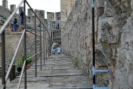El Castell de Capdepera incorpora barandillas para aumentar la seguridad del recinto