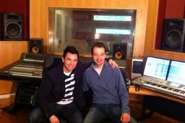 David Civera graba su nuevo disco en los estudios de Daniel Ambrojo