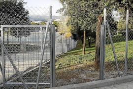 Cort separará la zona de perros del parque de Son Dameto d'Alt