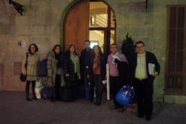La oposición abandona su encierro en el Ajuntament d'Inca y estudia alternativas a la privatización
