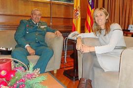 Los 'sindicatos' de la Guardia Civil celebran el nombramiento de Barceló