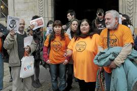 La PAH afirma que el 'plan antidesahucios' municipal «ha sido un fracaso en Palma»