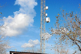 Sa Pobla avanza en la eliminación de las antenas de telefonía de Son Basca