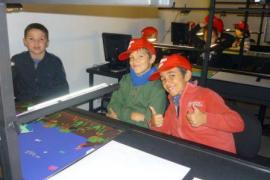 Alumnos del CEIP Es Putxet de Selva visitan LADAT