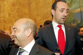 Bauzá dice que su relación con Gómez no ha cambiado y que no está desautorizado