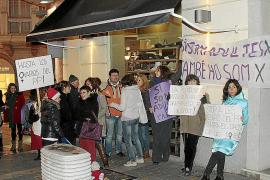 Protesta en Palma contra la reforma de la ley del aborto