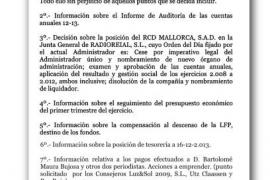 Serra exige a Cerdà no abordar los fichajes en el consejo