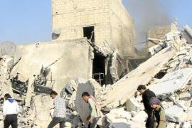 Los ataques aéreos del Ejército sirio causan más de 300 muertos en Alepo
