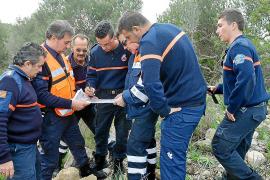 La Guardia Civil, a la espera del resultado de las  muestras recogidas en sa Porrassa