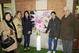 Exposición floral de Nadina Ahidar