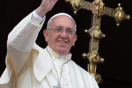 El Papa pide a creyentes y no  creyentes que deseen juntos la paz en el mundo