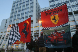 Schumacher, estable