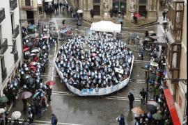 Cientos de personas piden en Pamplona el fin «inmediato» de la dispersión de los presos de ETA