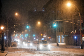 Sigue la alerta en EEUU por la tormenta 'Hércules', que ha dejado 16 muertos