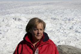 Merkel suspende su agenda tras  fracturarse la pelvis mientras esquiaba