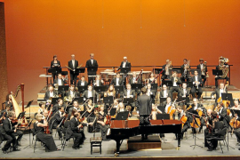 PALMA - MUSICA - PRIMER CONCIERTO DE LA ORQUESTRA SIMFONICA EN EL AUDITORIUM TRAS EL CONFLICTO.