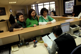 PALMABOTAconcentracio docents a la conselleria cultura
