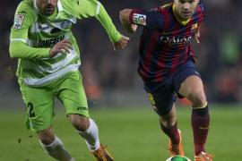 El Barça golea al Getafe con una vuelta triunfal de Messi (4-0)
