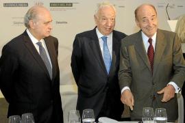 El ministro García-Margallo defiende solucionar la cuestión catalana «hablando»