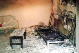 Un cortocircuito provoca un incendio en una vivienda de Alfonso el Sabio de Palma