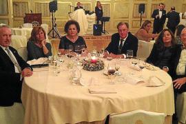 Cena de navidad club rotario Palma - Almudaina