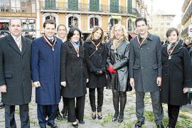 Festa de l'Estendard y medallas de oro de la Ciutat