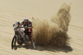 Muere el piloto de motos belga Eric Palante en el rally Dakar