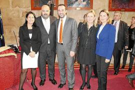 Toma de posesión de Jaime Martínez como nuevo conseller de Turisme i Esports