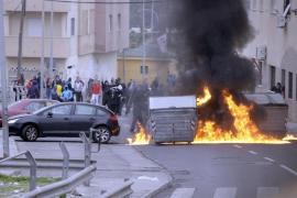 Seis heridos en Melilla por los disturbios en protesta por el desempleo