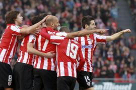 El Athletic recupera la pegada y golea con estrépito al Almería
