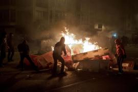 Una protesta vecinal en Burgos se salda con 17 detenidos y nueve policías heridos