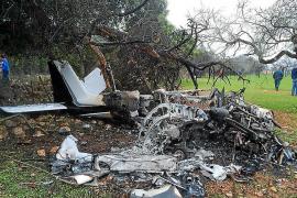 Un ultraligero se incendia tras un aterrizaje de emergencia en Binissalem