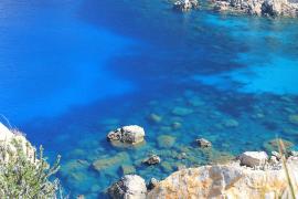 Cala En Basset vista desde La Trapa, Mallorca
