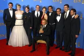 'La gran estafa americana' brilla en los Globos de Oro