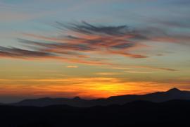 Última puesta de sol del 2013